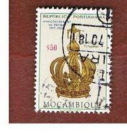 MOZAMBICO (MOZAMBIQUE)   - SG 594 -  1967 FATIMA APPARITIONS: GOLDEN CROWN -  USED - Mozambique