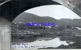 118455 ARGENTINA CORDOBA RIO SAN ROQUE ENTRE CARLOS PAZ Y COSQUIN 1946 16.5 X 10 CM PHOTO NO POSTCARD - Fotografie