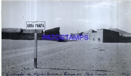 118458 ARGENTINA JUJUY QUEBRADA DE HUAMAHUACA ABRA PAMPA VISTA PARCIAL YEAR 1944 16 X 10 CM PHOTO NO POSTCARD - Fotografie