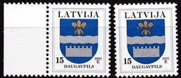 Lettland, 1999/00, 495, Freimarken: Wappen. Ogre (Oger), MNH ** - Lettland