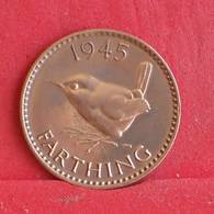 GREAT BRITAIN 1 FARTHING 1945 -    KM# 843 - (Nº30389) - 1902-1971 : Monete Post-Vittoriane