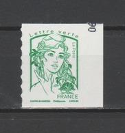 FRANCE / 2016 / Y&T N° AA 1215 ** : Ciappa SANS GRAMMAGE (de Carnet) TVP LV CdC Avec Bord - état D'origine - Adhésifs (autocollants)