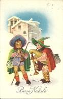 """Cartolina """"Buon Natale"""", Piccoli Zampognari (S34) - Altri"""