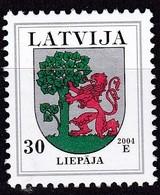 Lettland, 2004, 486 C II, Freimarken: Wappen. Liepaja (Libau) , MNH ** - Lettland