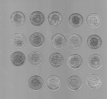 SUISSE LOT DE 18 PIECES DE 1 FRANC (VOIR ANNéES) - Switzerland