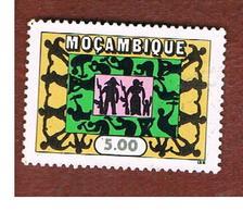 MOZAMBICO (MOZAMBIQUE)   - SG 655   -  1975 UNITY, WORK & SURVEILLANCE -  USED - Mozambico