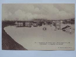 VIGNEUX, INONDATIONS 1910 - Photos