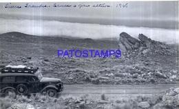 118459 ARGENTINA CORDOBA DOS RIOS  - LAS CHACRAS AUTOMOBILE CAR 1946 16.5 X 10 CM PHOTO NO POSTCARD - Fotografie