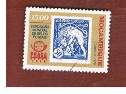 MOZAMBICO (MOZAMBIQUE)   - SG 727   -  1978 PRAGA '78 INT. STAMP EXN.   -  USED - Mozambico