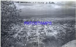 118461 ARGENTINA SALTA VISTA PANORAMICA AEREA AÑO 1947 16.5 X 10 CM PHOTO NO POSTAL POSTCARD - Fotografie