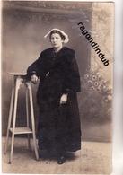 CPA PHOTO - 92 - BOURG-la-REINE - COIFFE BRETONNE - Beau Portrait Anonyme De FEMME Avec Coiffe Traditionnelle - Personnes Anonymes