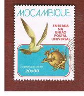 MOZAMBICO (MOZAMBIQUE)   - SG 735   -  1979 U.P.U. MEMBERSHIP: DOVE  -  USED - Mozambico
