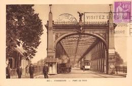 Strasbourg Kehl Pont Tramway Douaniers 350 C La Cigogne - Strasbourg