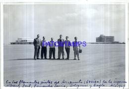 118466 ARGENTINA BUENOS AIRES EZEIZA AIRPORT AEROPUERTO AVIATION AÑO 1949 17.5 X 12 CM PHOTO NO POSTCARD - Fotografie