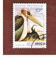 MOZAMBICO (MOZAMBIQUE)   - SG   861  -  1981  PROTECTED BIRDS:  MARABAU STORK -  USED - Mozambico