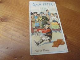 Chromo, Chocolat Au Lait, Gala Peter - Other