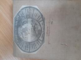 Carte Andriveau Goujon ,Allemagne,La Bohème, Appartenant Au Capitaine Dreyssé,ordonnance De L Empereur Napoleon 3...1869 - Geographical Maps