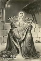 """Cartolina """"Buon Natale"""", La Sacra Famiglia (S47) - Altri"""