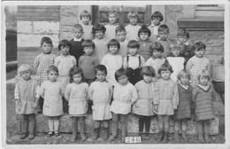 Carte Photo De Classe Primaire MONTELIARD 1931 - Fotografie
