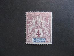 Etabl. De L'OCEANIE:  TB N° 3, Neuf X. - Oceanía (1892-1958)