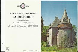"""Calendrier De Poche Publicitaire Assurances """"La Belgique"""" - Image Solre-sur-Sambre - 1966 - Calendriers"""