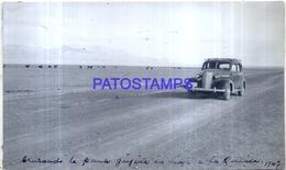 118470 ARGENTINA JUJUY LA QUIACA VISTA PARCIAL AUTOMOBILE CAR AÑO 1947 17 X 10 CM PHOTO NO POSTCARD - Fotografie
