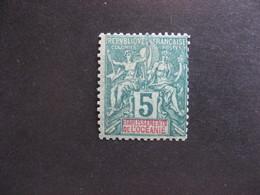 A). Etabl. De L'OCEANIE:  TB N° 4, Neuf X. - Oceanía (1892-1958)
