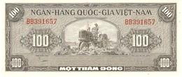 VIETNAM SOUTH 100 DONG 1955 PICK 8a AUNC - Viêt-Nam