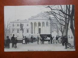 Carte Postale  - MARSEILLE (13) - Palais De Justice - Publicité Au Verso (3306) - Autres