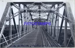 118472 ARGENTINA SANTIAGO DEL ESTERO BRIDGE PUENTE & RAILROAD AÑO 1947 17 X 10.5 CM PHOTO NO POSTAL POSTCARD - Fotografie