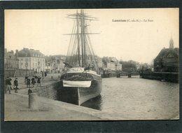 CPA - LANNION - Le Port, Animé - Bateau De Pêche - Lannion