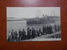 """Carte Postale  - CALAIS (62) - """" The Queen """" Dans L'avant Port - Bâteau (3309) - Calais"""