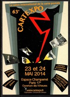 Paris 17e . 63e CARTEXPO. 2014 - Collector Fairs & Bourses