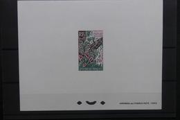 POLYNÉSIE - Épreuve De Luxe - Œuvre Des Cantines Scolaires - L 40433 - Imperforates, Proofs & Errors