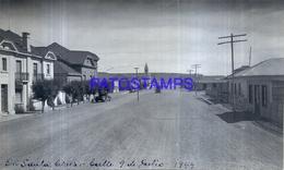 118476 ARGENTINA SANTA CRUZ CALLE 9 DE JULIO AÑO 1944 16.5 X 10 CM PHOTO NO POSTAL POSTCARD - Fotografie
