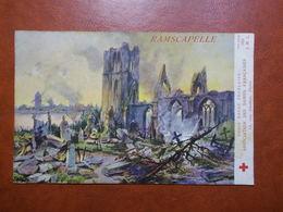Carte Postale  - BELGIQUE - Ramscapelle - Croix Rouge Française (3312) - Sonstige