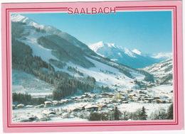 Skidorf Saalbach, 1003 M  Mit Schattberg-Westgipfel Und Zwölferkogel  - Salzburger Land - Saalbach