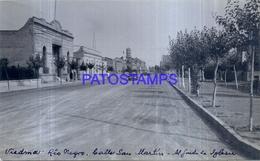 118480 ARGENTINA RIO NEGRO VIEDMA CALLE SAN MARTIN 16.5 X 10 CM PHOTO NO POSTAL POSTCARD - Fotografie