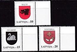 Lettland, 2003, 584/86,  Freimarken: Wappen. MNH ** - Lettland