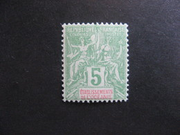 Etabl. De L'OCEANIE:  TB N° 14, Neuf X. - Oceanía (1892-1958)