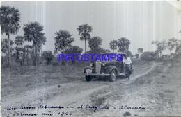 118483 ARGENTINA FORMOSA TRAYECTO A CLORINDA AUTOMOBILE CAR AUTO 1944 17 X 11 CM PHOTO NO POSTCARD - Fotografie