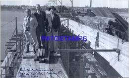 118484 ARGENTINA CORRIENTES PASO DE LOS LIBRES PUENTE INTERNACIONAL CONSTRUCCION 17 X 10 CM PHOTO NO POSTAL POSTCARD - Fotografie