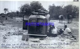 118485 ARGENTINA ENTRE RIOS VILLA FEDERAL Y SAUCE AUTOMOBILE CAR & MAN'S AÑO 1947 16.5 X 10 CM PHOTO NO POSTAL POSTCARD - Fotografie