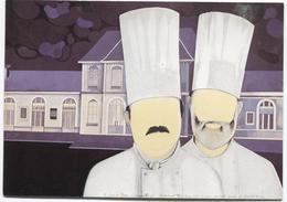 Troisgros Face Gare De Roanne - Rep Du Tableau De Gilles Coudour - Colis Bagages - Ed. IAG - Chef Cuisine - Autres