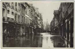 14 Caen  Inondation Carte Photo Delassalle Et Coron - Caen