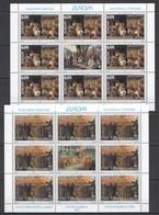 EC026 1998 YUGOSLAVIA JUGOSLAVIA EUROPA CEPT ART PAINTINGS !!! 2SH MNH - Europa-CEPT