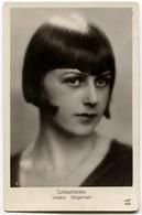 CARTOLINA ATTRICE DANNEMARK VIBEKE MOGENSEN MISS EUROPE ANNO 1929 ACTRESS - Attori