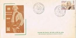 33696. Carta Exposicion ARANDA De DUERO (Burgos) 1979. 250 Aniversario General GUTIERREZ - 1931-Hoy: 2ª República - ... Juan Carlos I