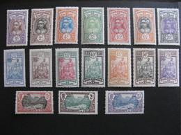 Etabl. De L'OCEANIE: TB Série  N° 21 Au N° 37 , Neufs X . - Oceanía (1892-1958)