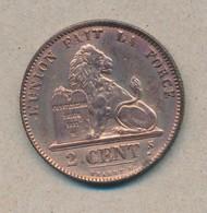 België/Belgique 2 Ct Leopold II 1870 Fr Morin 207 (89385) - 1865-1909: Leopold II